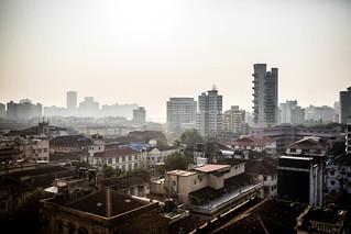 South Mumbai skyline