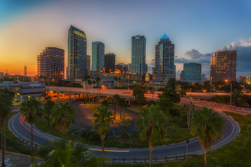 sunset tampa effects florida processing nik hdr cartrails photomatix