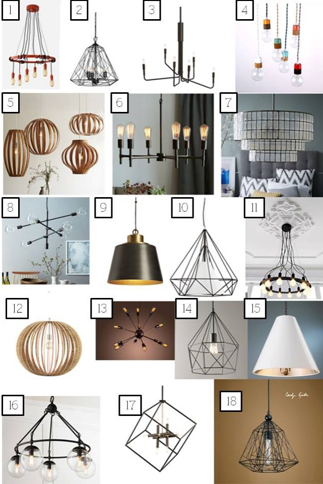 dining lighting options