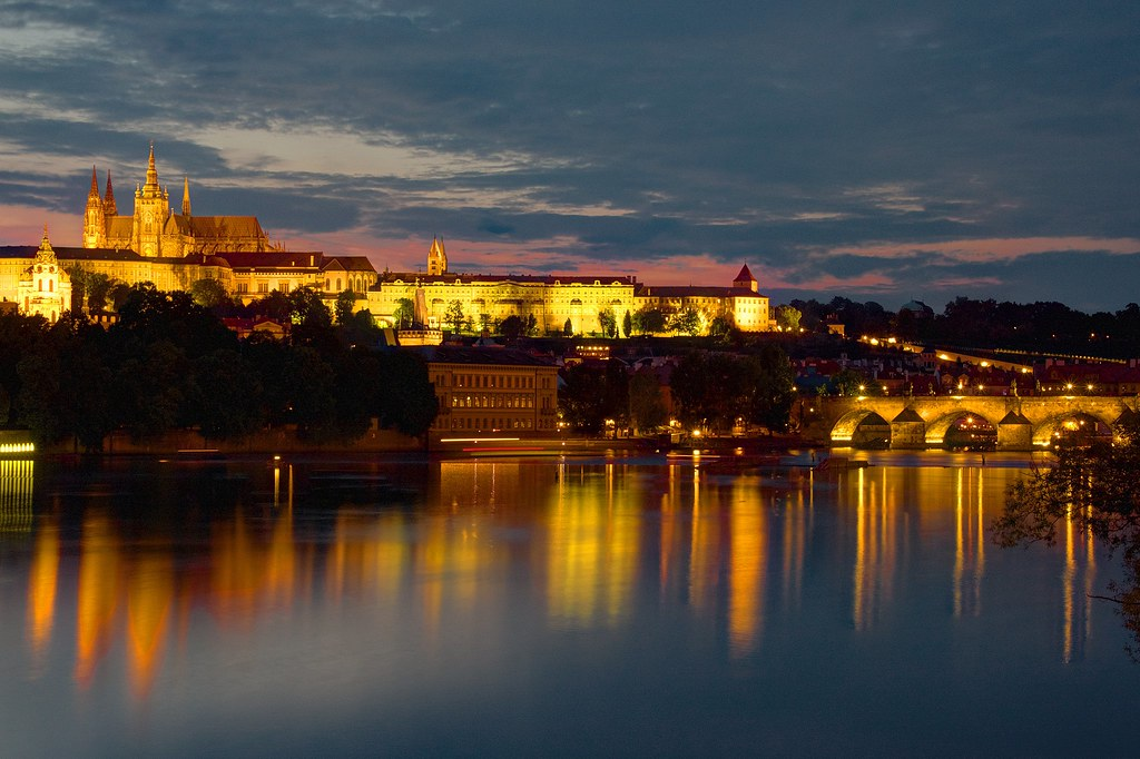 Blue hour-Prague