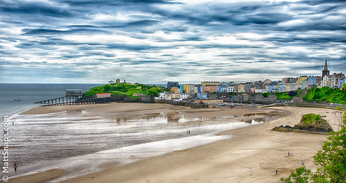 houses sea holiday beach church wales boat town seaside sand harbour lifeboat tenby