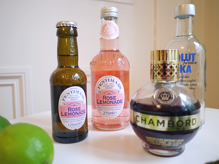fentimans rose lemonade cocktail 5