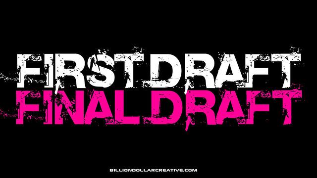Header of final draft