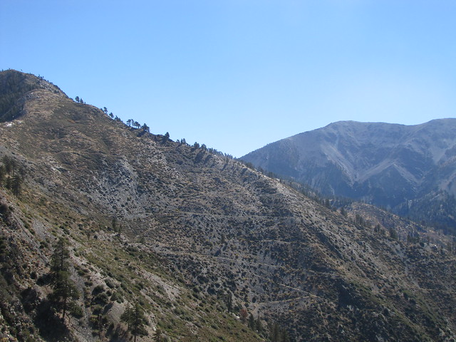 FIsh Fork Trail, Upper Fish Fork, Little Fish Fork, San Gabriels, Pine Mountain RIdge