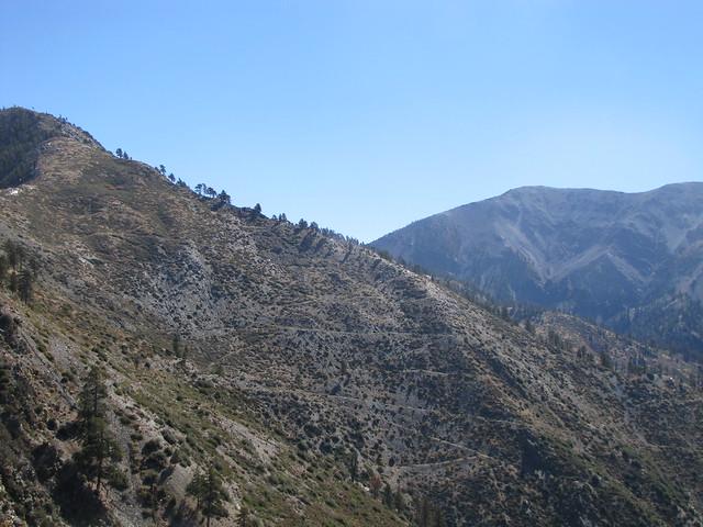 FIsh Fork Trail, Upper Fish Fork, Little Fish Fork, San Gabriels, Pine Mountain RIdge