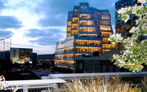 The High Line, the IAC Building
