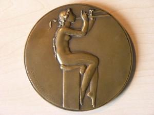 Medal Bronze from P.M.Dammann 1926