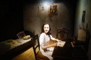 036 Anne Frank in Madame Tussaud
