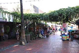 Olvera Street market.  LA, California.