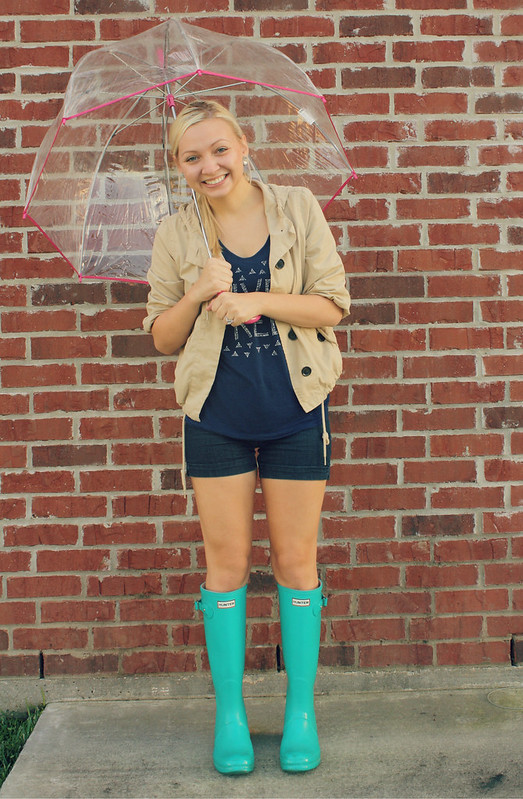 Goodwillista: i thrifted hunter rain boots