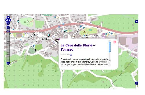 LE CASE DELLE STORIE - mappa
