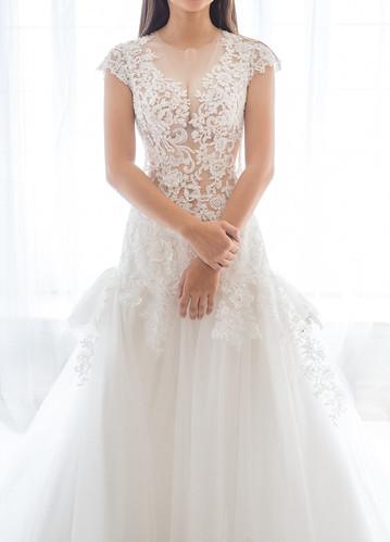 高雄婚紗推薦_高雄法國台北Pony設計造型團隊_設計款婚紗 (27)
