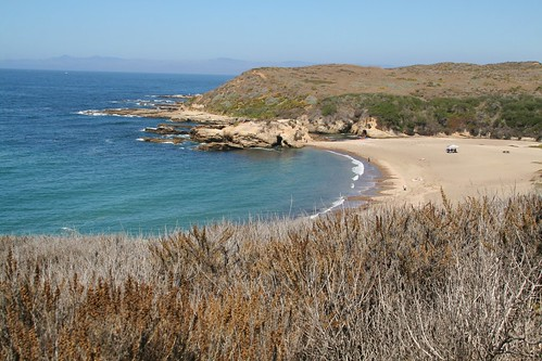 Overlook of Spooner's Cove