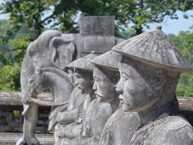 Tumbas reales de Hué (Vietnam)