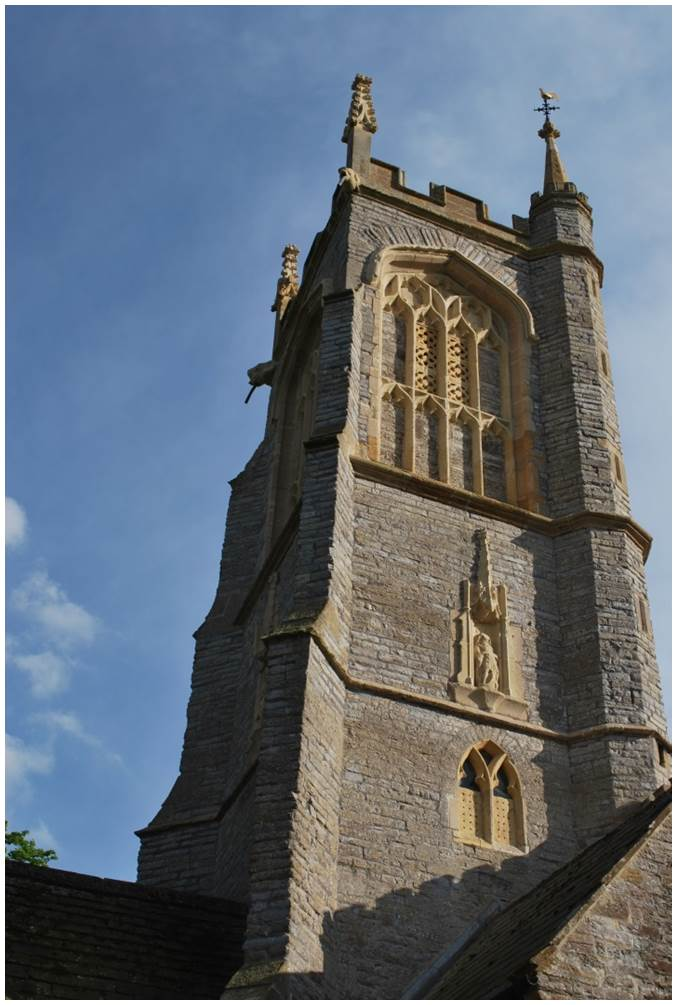 St Michael's Church, Othery, Somerset, North Elevation after conservation