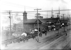 Waterfront fire station, 1910