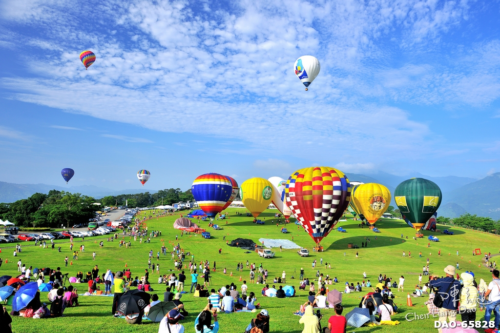 DAO-65828 台灣景點,台東鹿野高台,熱氣球嘉年華,鹿野高台熱氣球,台東縣,鹿野鄉
