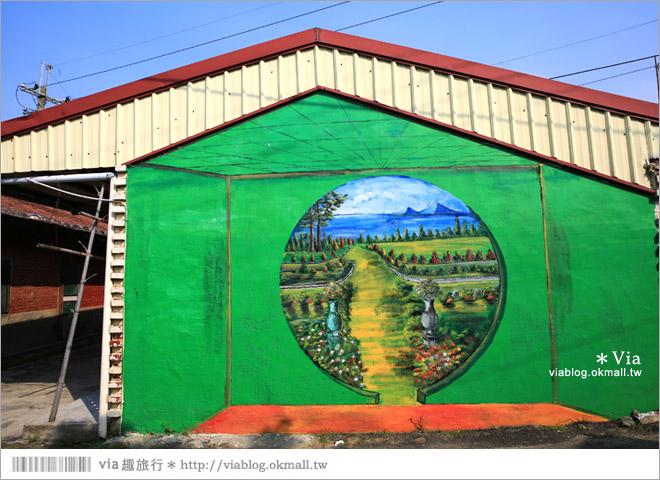 【關廟彩繪村】新光里彩繪村~在北寮老街裡散步‧遇見全台最藝術風味的彩繪村21