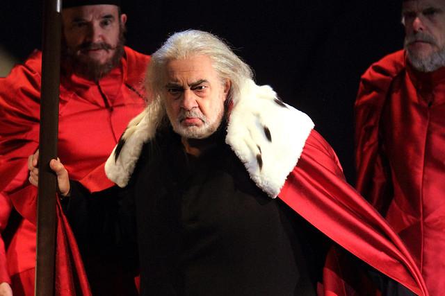 Plácido Domingo in I due Foscari © ROH/Catherine Ashmore, 2014