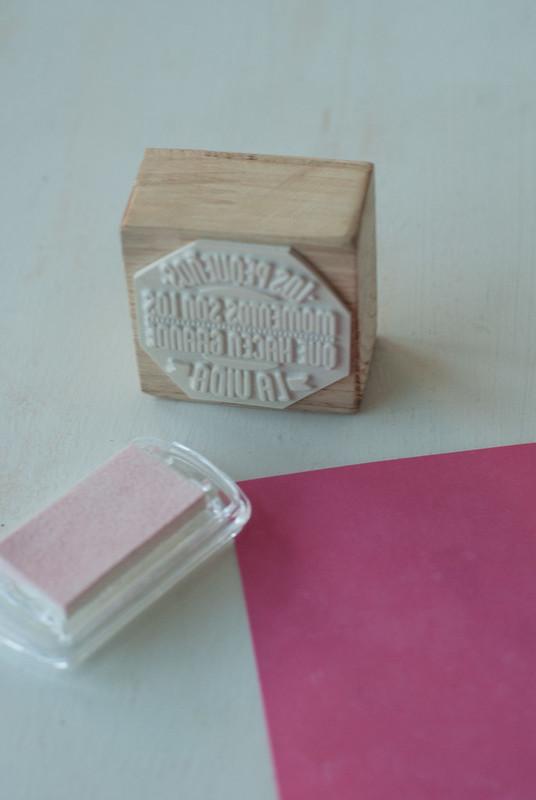 letra madera