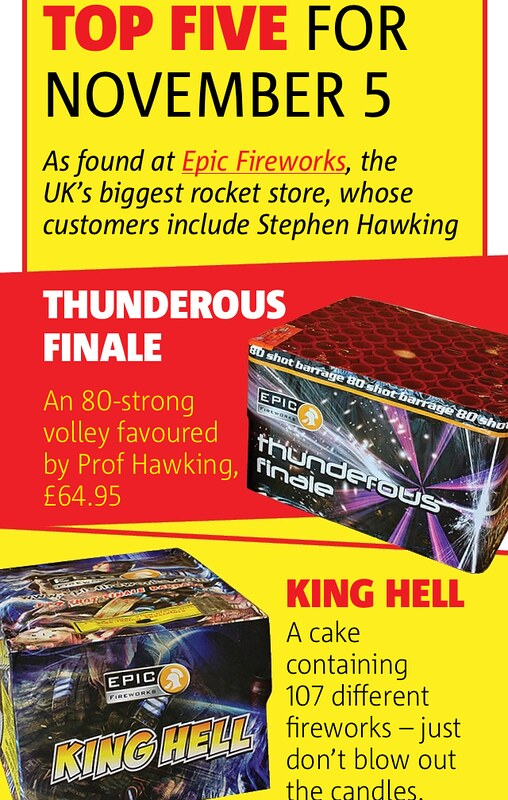 #EpicFireworks Feature In The Metro 2014