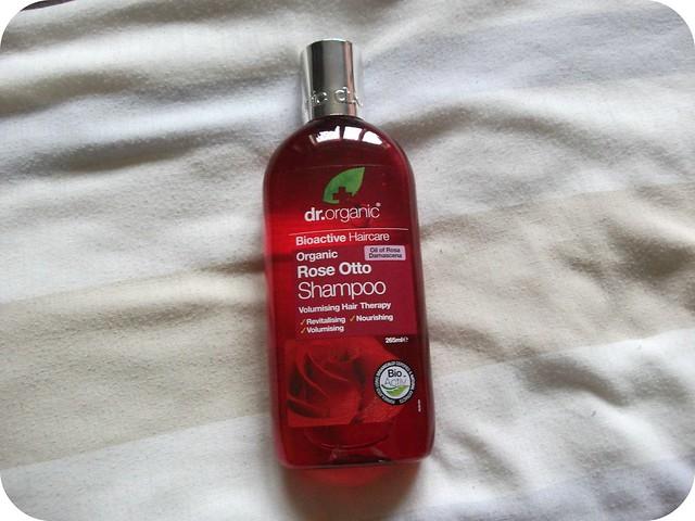 Dr Organic Rose Otto Shampoo Review