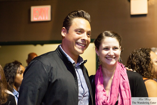 "Jeff Mauro of ""The Kitchen"" (on left)"