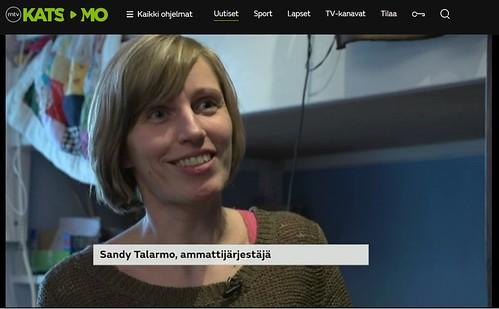 Huomenta Suomi Sandy Talarmo