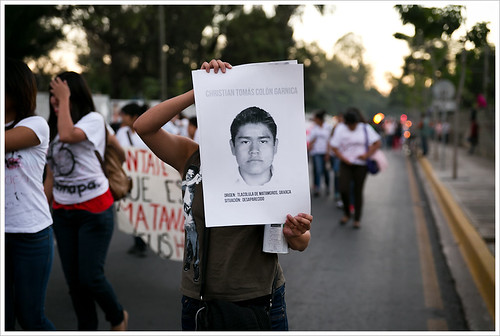 Accion Global por Ayotzinapa @ Oaxaca