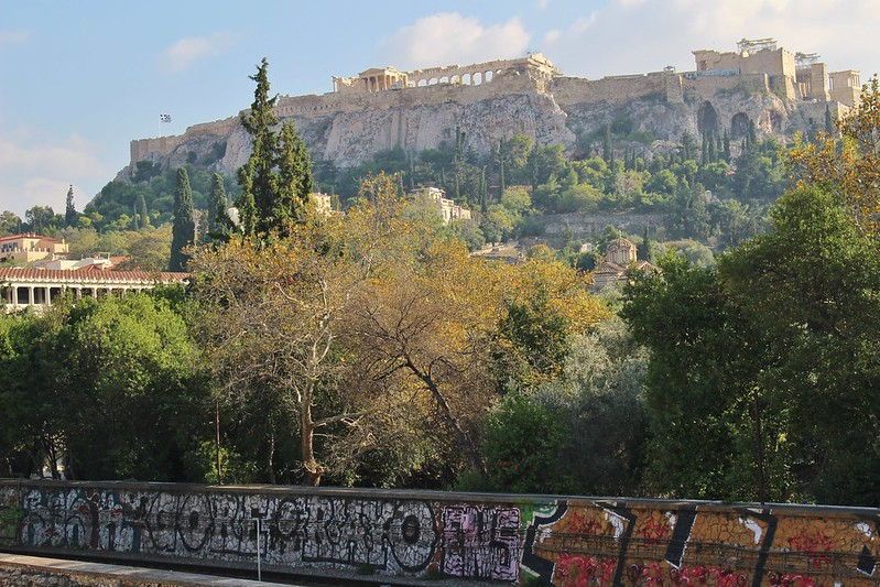 graffiti wall Acropolis