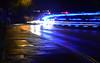 20141015-01_Traffic Light Trails_Warwick_Ambulance + Police Car