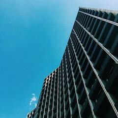 The Blue Sky & The Straight Lines... #mycitymytown   #lookupclub #lookupseason #lookup #igersnairobi #igkenya #cityscapes #cityofnairobi #mobilemasters #nairobi #kenya #architecture #ampt_community #vscofind #instagood #sky #streetmeetnairobi