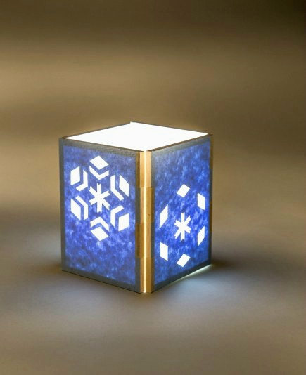 Snowflake Lantern Paper Craft Kit - Helen Hiebert