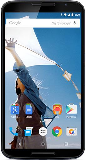 Nexus 6 実物大の製品画像1