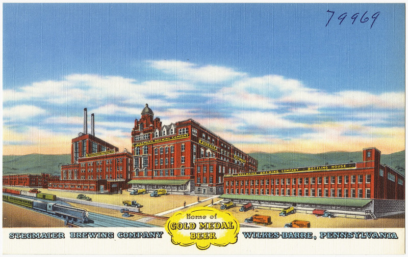 Stegmaier_Brewing_Company,_home_of_gold_medal_beer,_Wilkes-Barre,_Pennsylvania