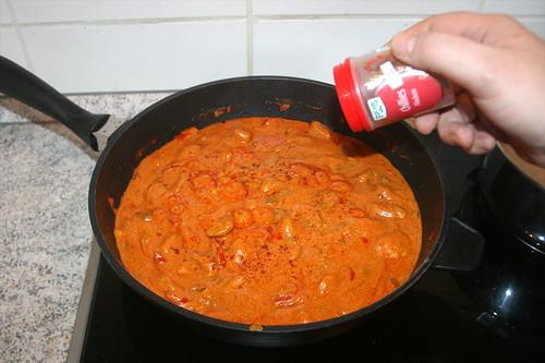 38 - Mit Gewürzen abschmecken / Taste with seasoning