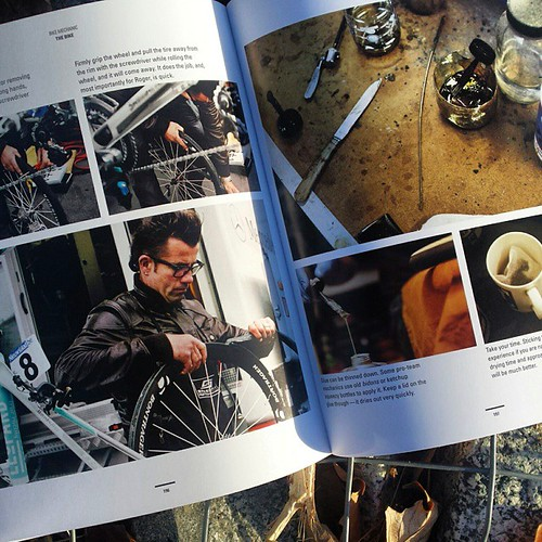 6 full pages of photos about tubular tires in the book _Bike Mechanic_ published by VeloPress