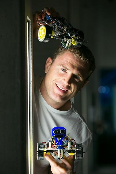 Science Week Jamie Heaslip Robotic Workshop