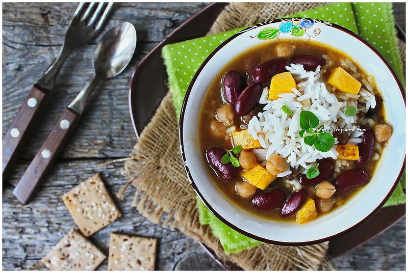 ...Cholent Jewish soup