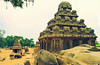 The Rathas in Mahabalipuram-Tamil Nadu