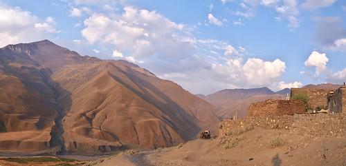 mountains sunrise dorf village azerbaijan berge caucasus sonnenaufgang gebirge kaukasus aserbaidschan xinaliq