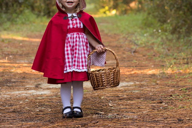 STITCHED By Crystal Little Red Riding Hood And A Hooded Cape Stunning Toddler Cape Pattern