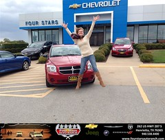 #HappyAnniversary to Meagan Williams on your 2008 #Dodge #Caliber from Everyone at Four Stars Auto Ranch!