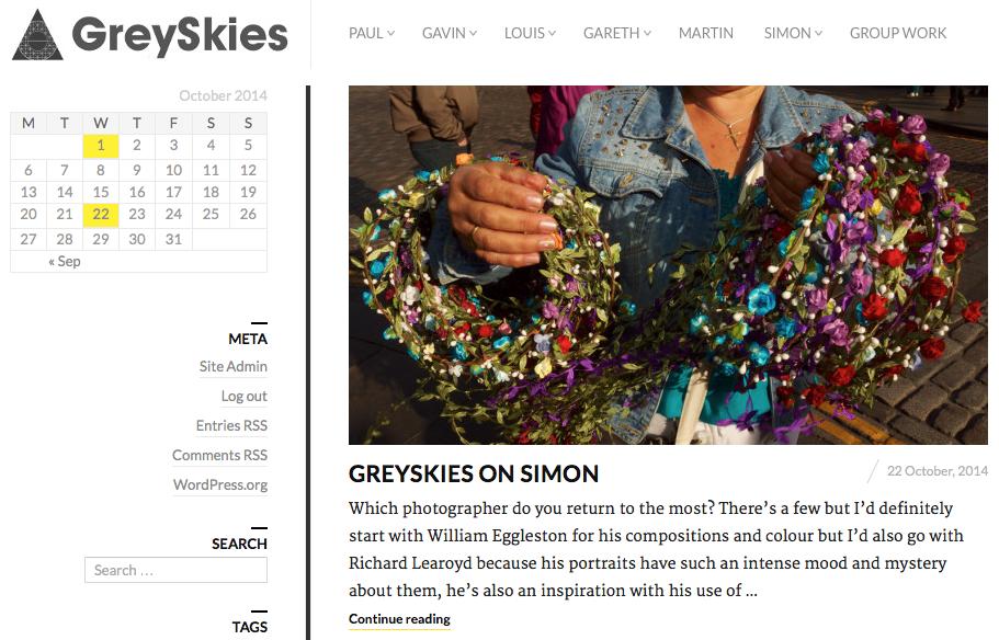 GreySkies Website