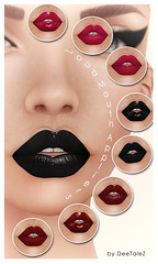 Loud Mouth (Mesh Mouth) Appliers MakeUp Lips