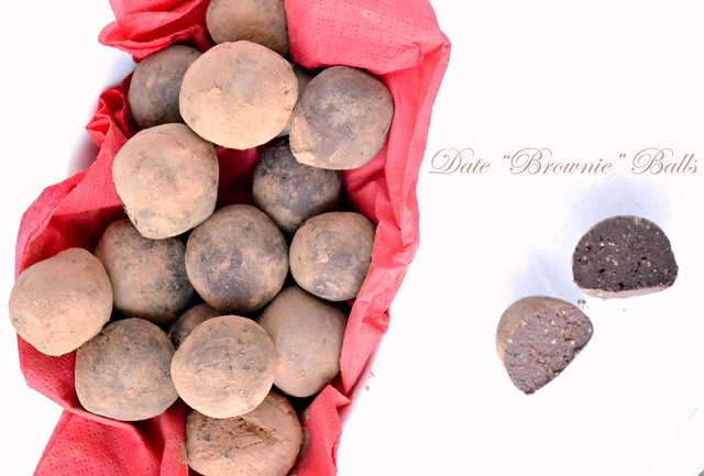 brownie date balls