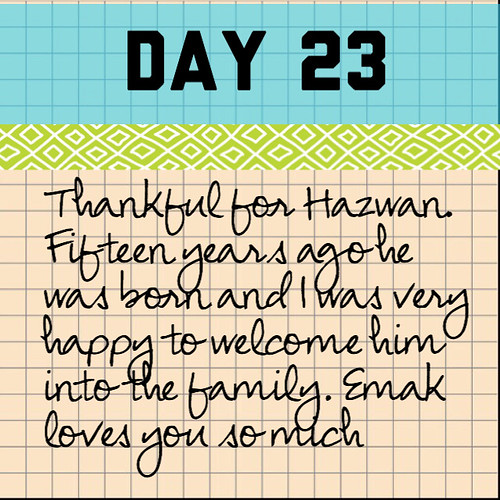 Day 23: Hazwan