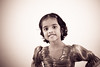 Photoshoot with my niece - Varshini