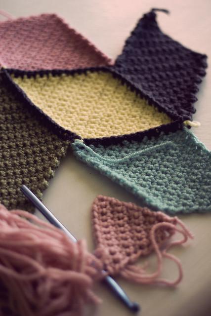 New crochet blanket