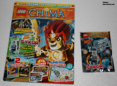 Lego Legends of Chima Sykor p1